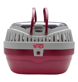 LIVING WORLD (W) LW Carrier, Large, Red/Grey