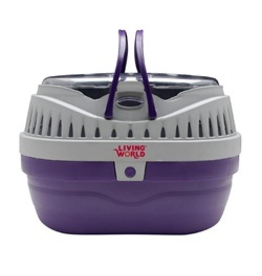 LIVING WORLD (W) LW Carrier, Small, Purple/Grey