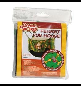LIVING WORLD (W) Living World Ferret Fun House - Green - 25 cm (10 in)
