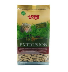 LIVING WORLD (W) Extrusion Diet for Hamsters - 1.5 kg