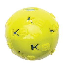 (W) K9 Fitness by Zeus TPR Ball Encasing Tennis Ball - 7.62 cm dia. (3 in dia.)
