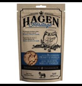 (W) HAGEN HERITAGE DOG TREATS BLUEBERRY HONEY & VANILLA