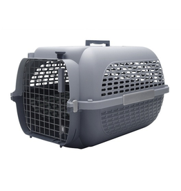 DOG IT (W) Dogit Voyageur Dog Carrier - Gray/Gray - XLarge - 68.4 cm L x 47.6 cm W x 43.8 cm H (26.9 in x 18.7 in x 17 in)
