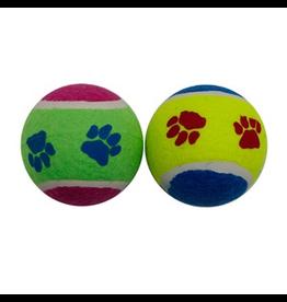 "DOG IT (W) Dogit Paw Prints Tennis Balls - 10 x 7 cm (4"" x 2.8"")"