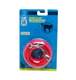 CAT IT (W) CA Nyl. Tie-out, 6m (20 ft),Red-V