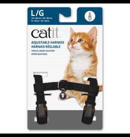 CAT IT (W)Catit Adjustable Nylon Harness - Black - Large
