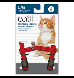 CAT IT (W)Catit Adjustable Nylon Harness - Red - Large