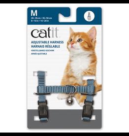 CAT IT (W) Catit Adjustable Nylon Harness - Light Blue - Medium
