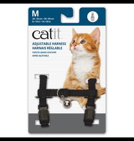 CAT IT (W) Catit Adjustable Nylon Harness - Black - Medium