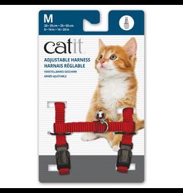 CAT IT (W) Catit Adjustable Nylon Harness - Red - Medium