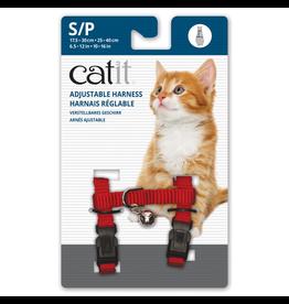 CAT IT (W) Catit Adjustable Nylon Harness - Red - Small