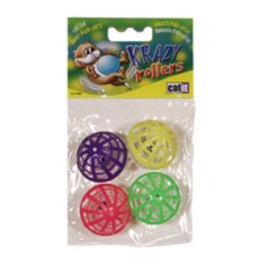 CAT IT (W) Catit Jingle Balls, 4pcs-V