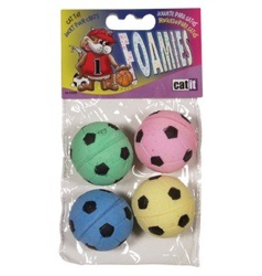 CAT IT (W) Catit Sponge Soccer Balls 4pcs-V