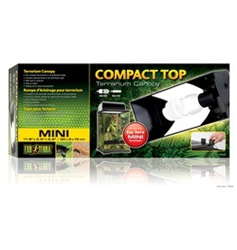 EXO TERRA (W) EXT Plastic Canopy w.Singl Socket,30cm-V