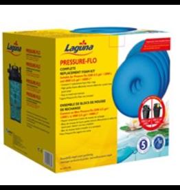 LAGUNA (W) LG Pre-Flo Repl. Foam-27cm, 5pk