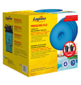 LAGUNA (W) LG Pre-Flo Repl. Foam-27cm, 4pk
