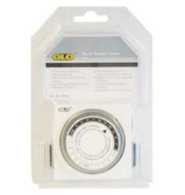 GLO (W) Glo Dual Outlet Timer-V