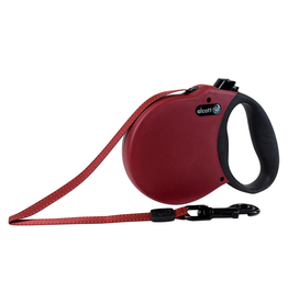 ALCOTT (W) Adventure Retractable Leash - Red - X-Small