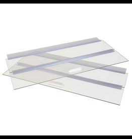 """SEAPORA (W) Seapora Glass Canopy - 48"""" x 13"""""""