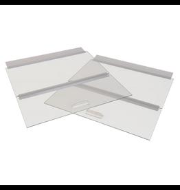 """SEAPORA (W) SE Glass Canopy - 36"""" x 18"""