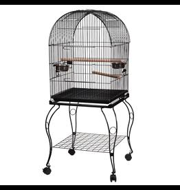 ANIMAL TREASURES (W) AT Bird Cage - Black - Large