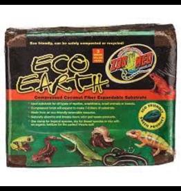 (W) Zoo Med Eco Earth Coconut Fiber Substrate - 3 Bricks