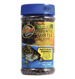 (W) Zoo Med HATCH AQUATIC TURTLE FOOD 1.9OZ