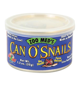(W) Zoo Med Can O' Snails - 1.7 oz