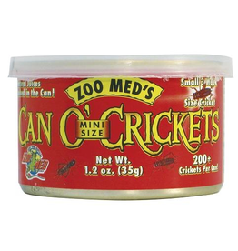 (W) Zoo Med CAN O' CRICKETS MINI SIZE 1.2OZ