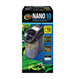 (W) Zoo Med Nano External Canister Filter - 10 gal