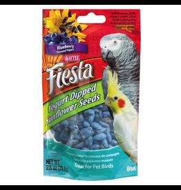 KAYTEE (W) Fiesta Yogurt Dipped Sunflower Seeds - Blueberry Yogurt - 2.5 oz