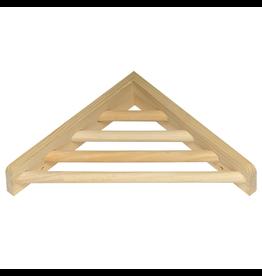 "PREVUE HENDRYX (W) Prevue Hendryx Wood Corner Shelf - 7"""