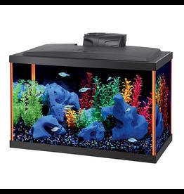 AQUEON (W) NeoGlow Rectangle Aquarium Kit - Orange - 10 gal
