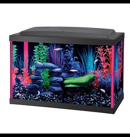 AQUEON (W) NeoGlow Rectangle Aquarium Kit - Pink - 5.5 ga