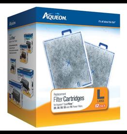 AQUEON (W) AQ Replacement Filter Cartridge - Large - 12 pk