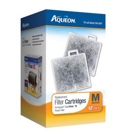 AQUEON (W) AQ Replacement Filter Cartridge - Medium - 12 pk