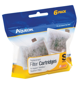 AQUEON (W) AQ Replacement Filter Cartridge - Small - 6 pk