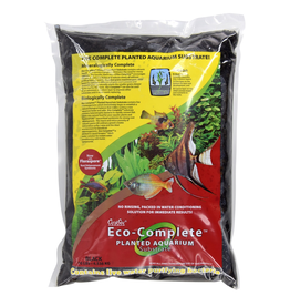 CARIBSEA (W) Eco-Complete Planted - Standard - Black - 20 lb