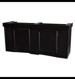 """SEAPORA (W) Monarch Cabinet Stand - Black - 60"""" x 18"""