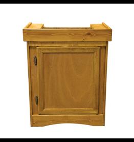 """SEAPORA (W) Monarch Cabinet Stand - Oak - 24"""" x 12"""""""