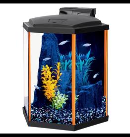 NEOGLOW NeoGlow Hexagon Aquarium Kit - Orange - 8 gal