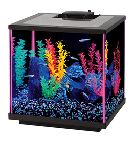 NEOGLOW NeoGlow Cube Aquarium Kit - Pink - 7.5 gal