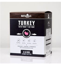 NATURAWLS (W) NatuRAWls Frz Raw Turkey & Trout Cat 24 x 113g