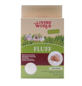 LIVING WORLD (W) LW Hamster Fluff, 60G-V