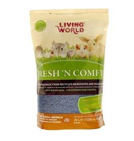 LIVING WORLD LW Fresh n Comfy Bdng 20L-Blue-V