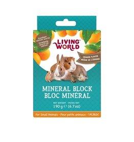 LIVING WORLD LW SmAnim Mineral Block, Orange, 190g