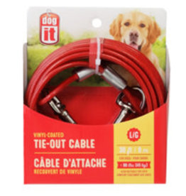 AVENUE (W) Avenue 30 Lrg Tie Out Cable Red-V