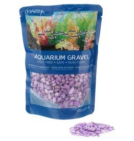MARINA MA Dec.Aquarium Gravel Purple,450g-V
