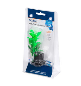 AQUEON Aqueon Betta Filter With Natural Plant