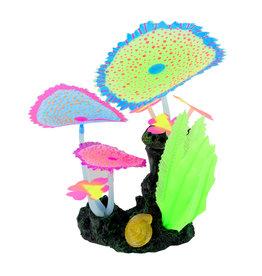 UNDERWATER TREASURES (W) UT Glow Action Bubbling Carpet Coral Garden - Green